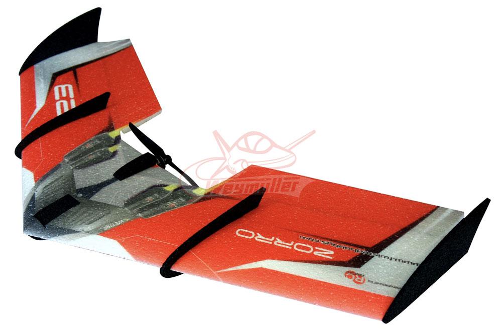 Kit Zorro Wing rouge 0,90m