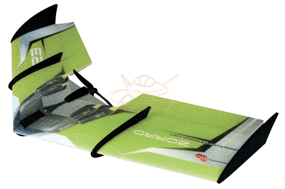 Kit Zorro Wing vert 0,90m