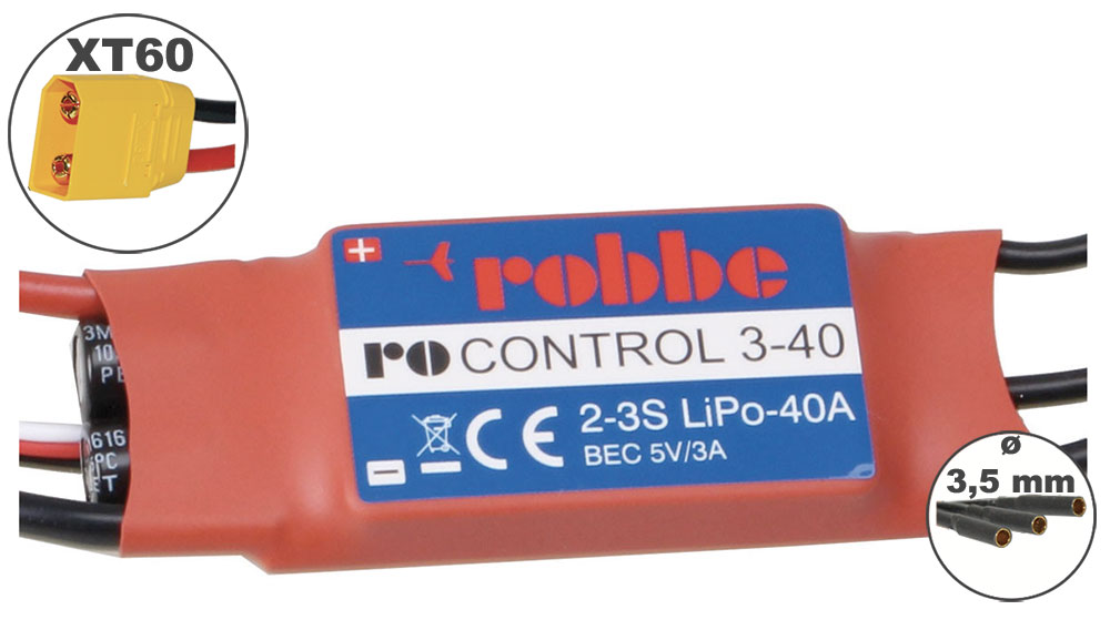 Variateur RO-CONTROL 40A 2-3S
