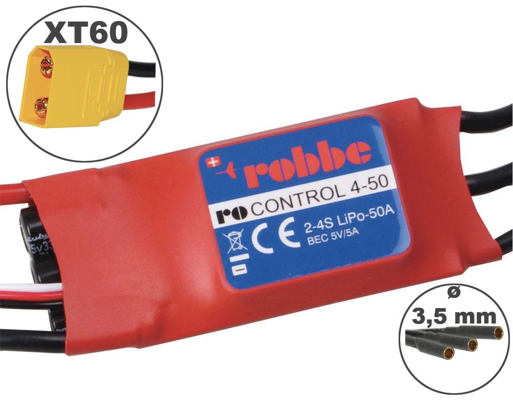 Variateur RO-CONTROL 50A 2-4S