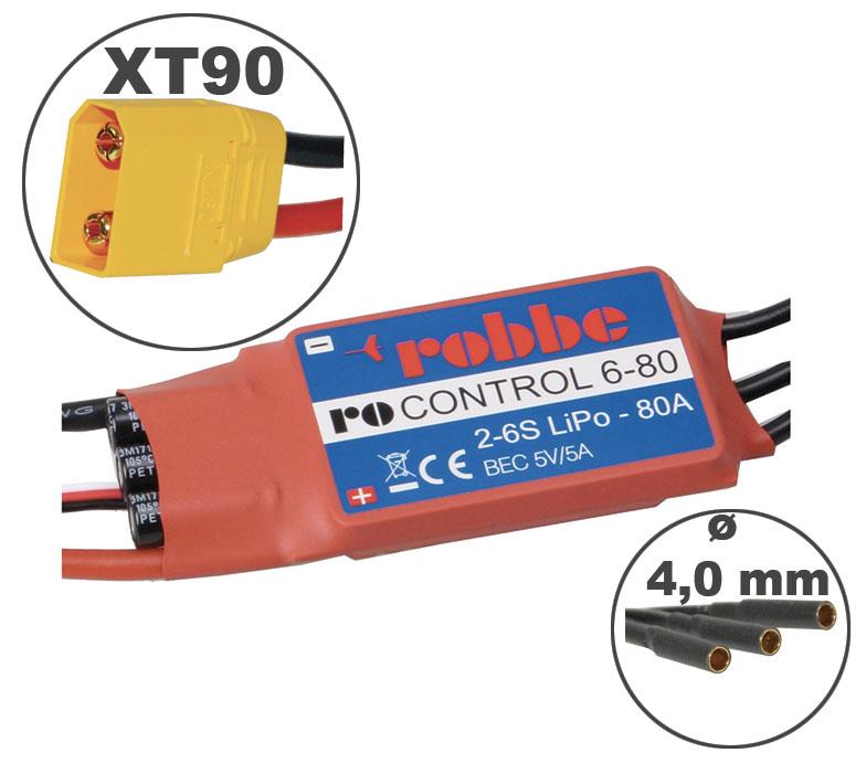 Variateur RO-CONTROL 80A 2-6S
