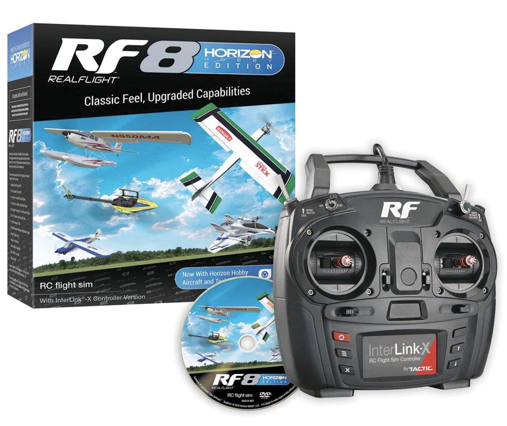 Simulateur Realflight RF8 Horizon Hobby Edition mode 1