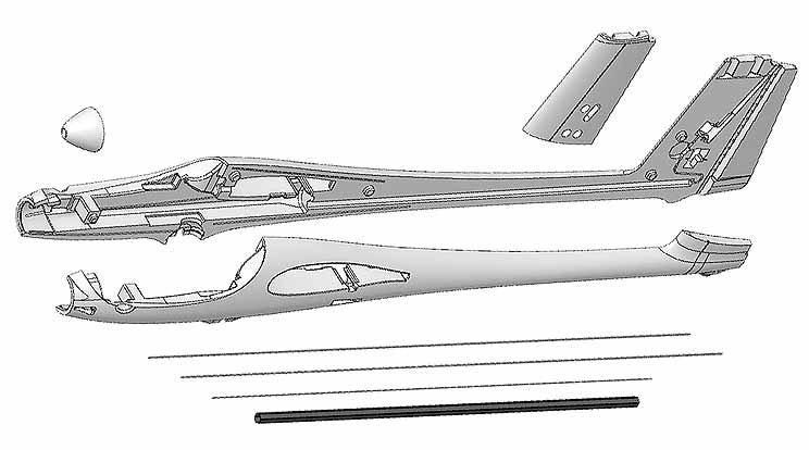 Fuselage Heron