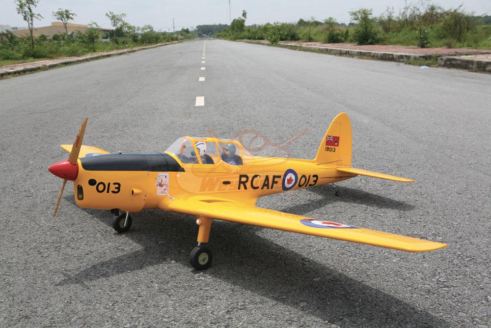 Kit DHC-1 Chipmunk 33cc ARF 2,03m (jaune)