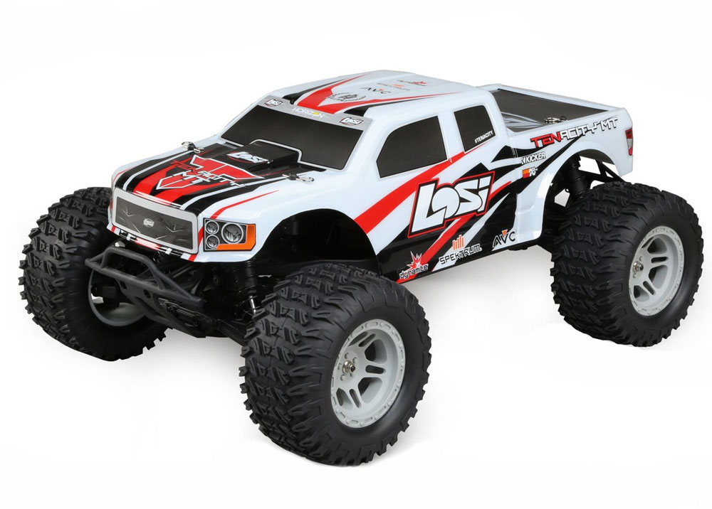 Monster Truck TENACITY 4WD Brushless RTR with AVC, blanc 1/10
