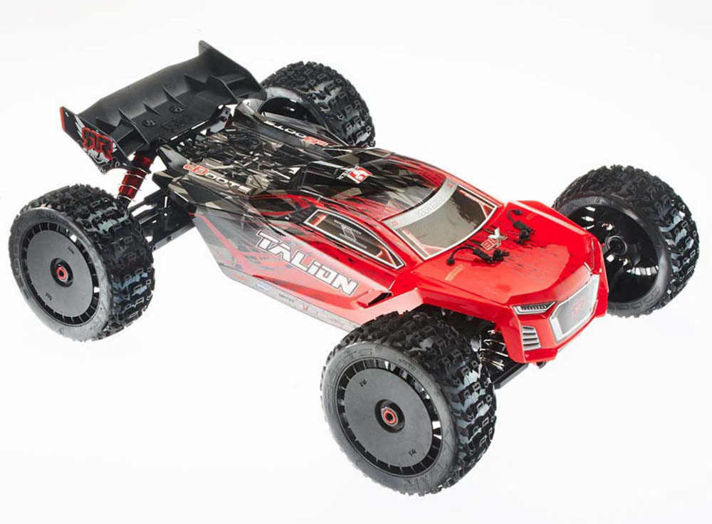 Truggy Talion 6S BLX Brushless 4WD RTR, rouge/noir