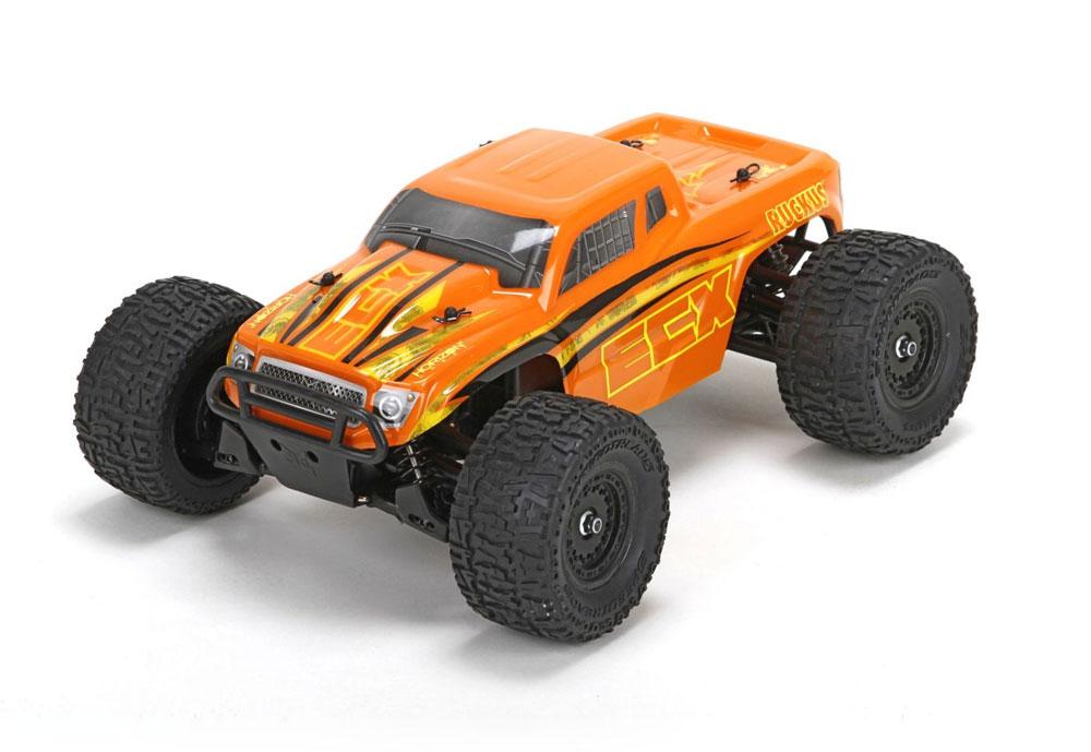 Monster Truck Ruckus 4WD RTR 1/18 rouge/noir