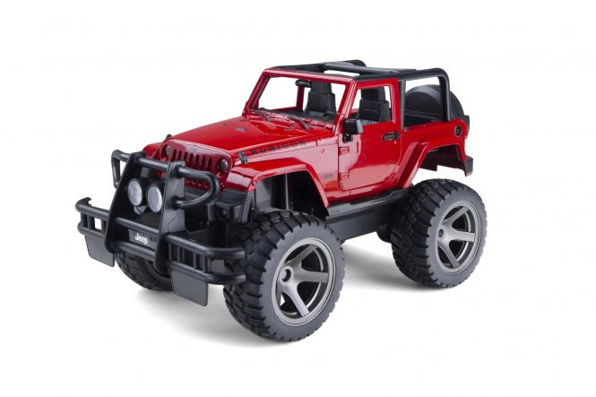 Jeep Wrangler 1/14 RTR Rouge