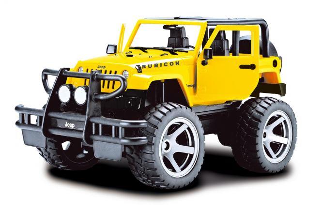 Jeep Wrangler 1/14 RTR Jaune