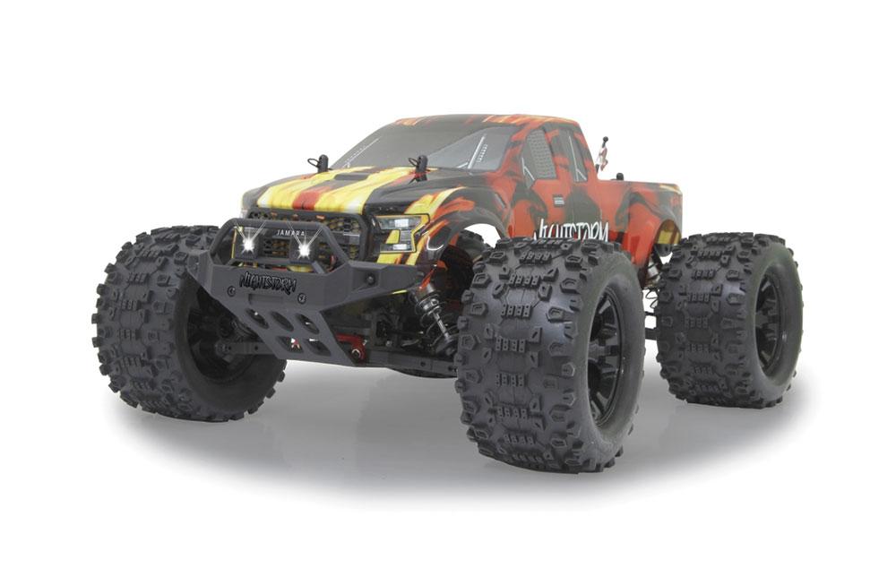 Monstertruck Nightstorm 2,4GHz BL LED 4WD Lipo 1/10