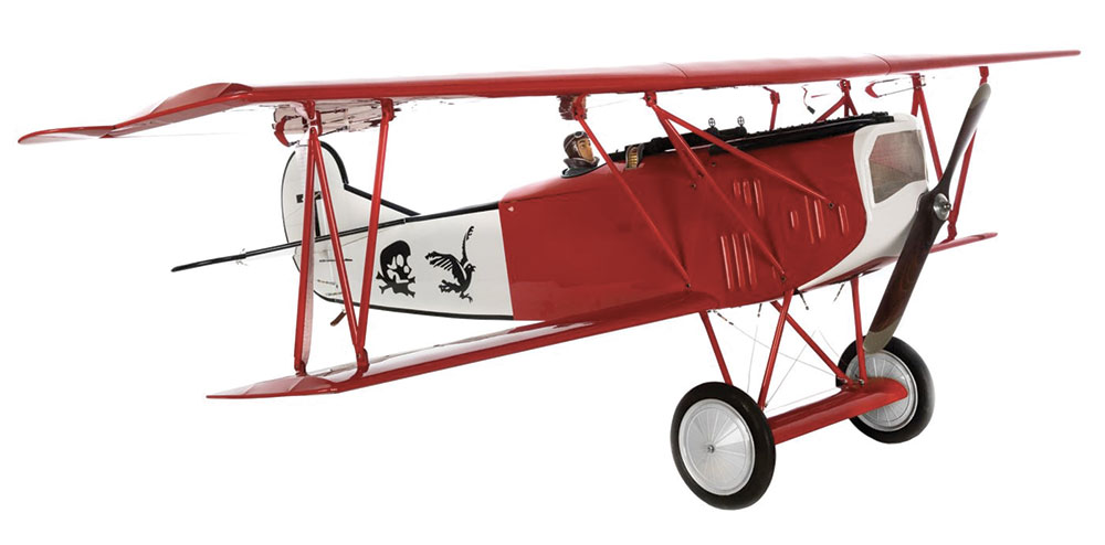 Fokker D.VII 30-60cc ARF 2,20m