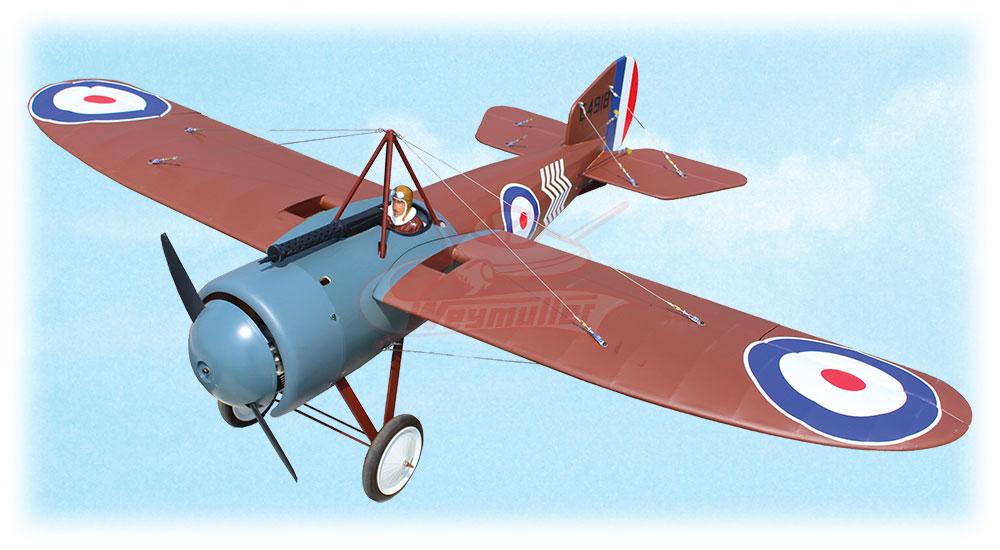Kit Bristol M1C Monoplan 1/4 ARF 1,80m