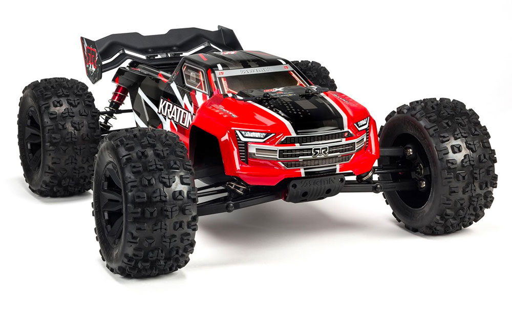 Speed Monster Truck KRATON 4WD BLX 1/8 + chargeur