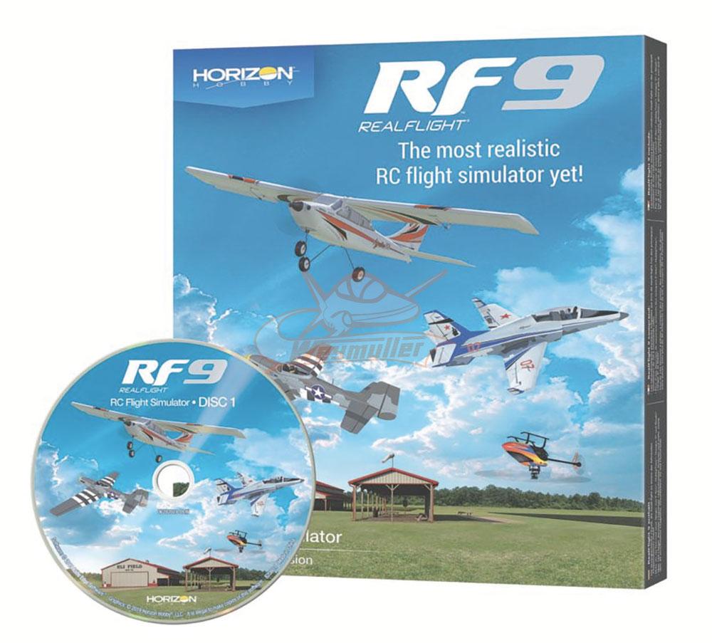 Simulateur Realflight RF9 Horizon Hobby Edition. Logiciel seul