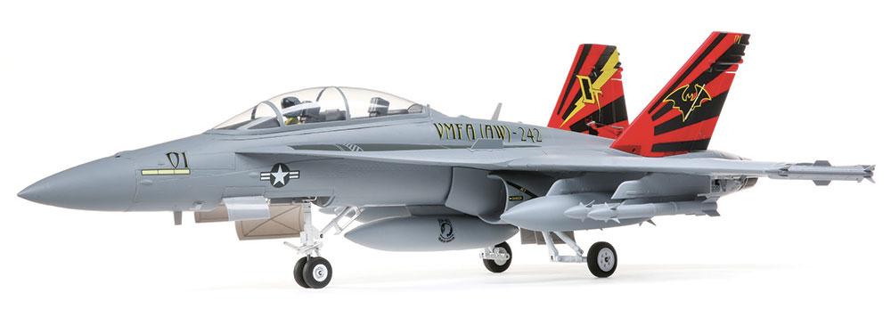 Kit F-18 Hornet 80mm EDF BNF Basic avec AS3X et SAFE Select