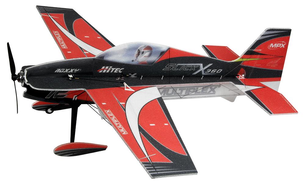 Kit Slick X360 Rouge 0,86m