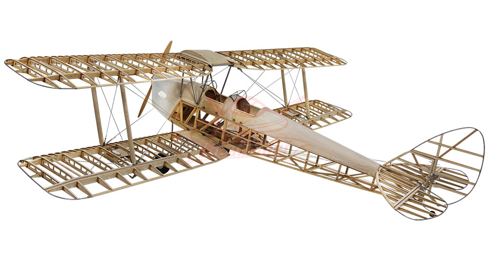 Tiger Moth De Haviland 1:3.8 DH82a 2,36m