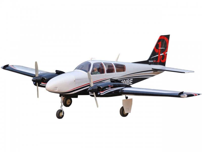 Beefchcraft Baron G58 1,76m ARF