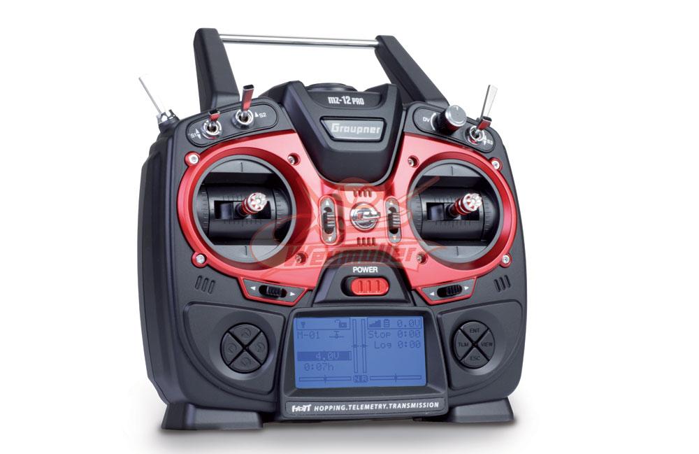 Radio Graupner MZ12 PRO 2,4GHz HoTT 6/0/0 - Émetteur seul