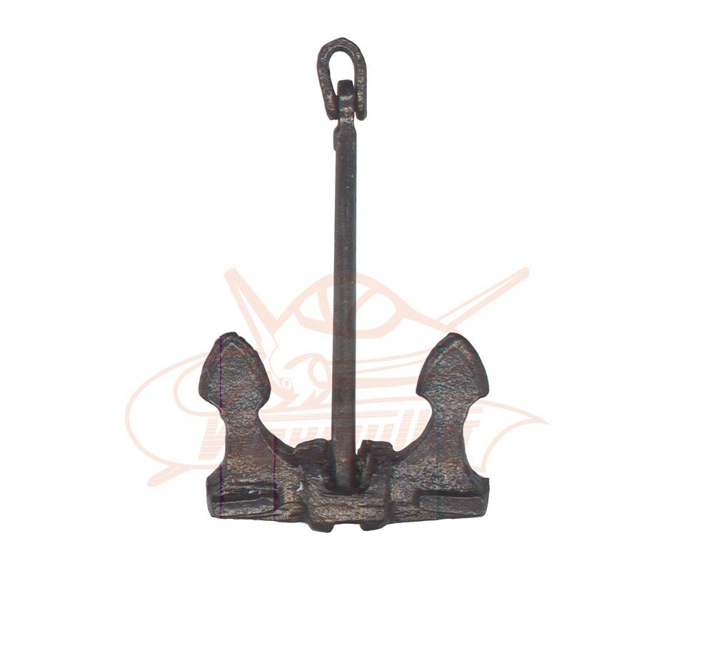Ancre en métal H: 38 mm. 2 pièces