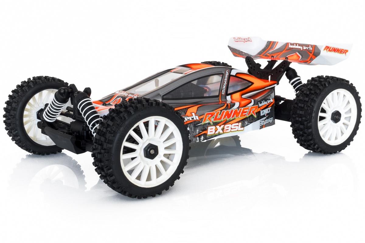 Buggy BX8 Runner Orange type SL charbon RTR 1/8