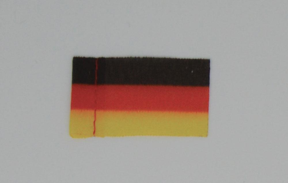 Pavillon Allemagne. 20 x 30 mm. 10 pièces