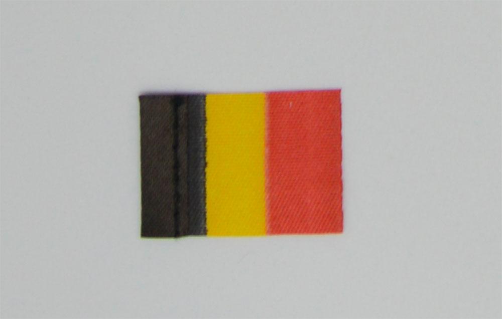 Pavillon Belgique. 20 x 30 mm. 10 pièces