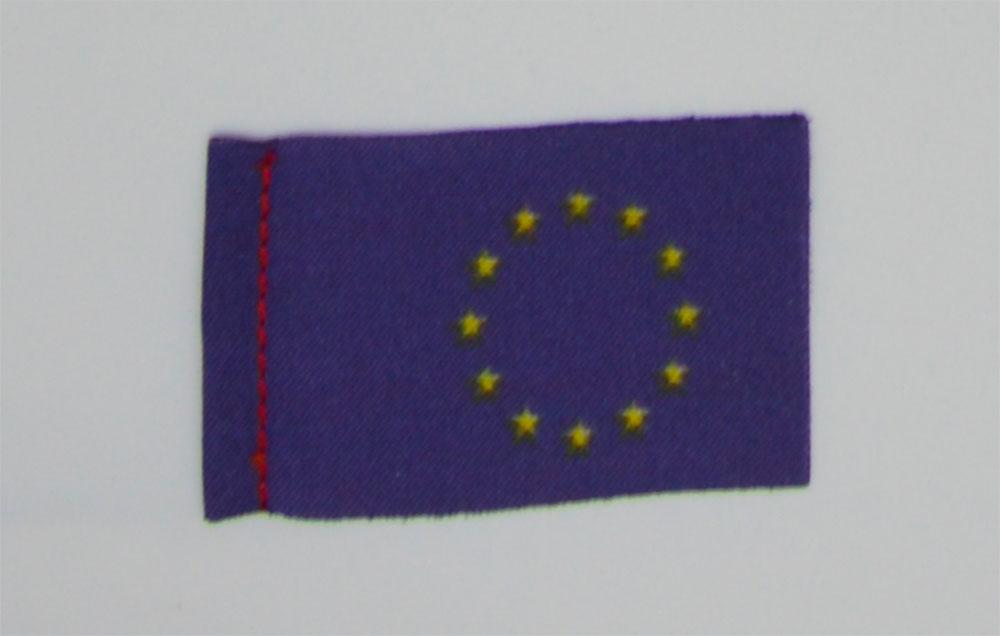 Pavillon Europe. 20 x 30 mm. 10 pièces