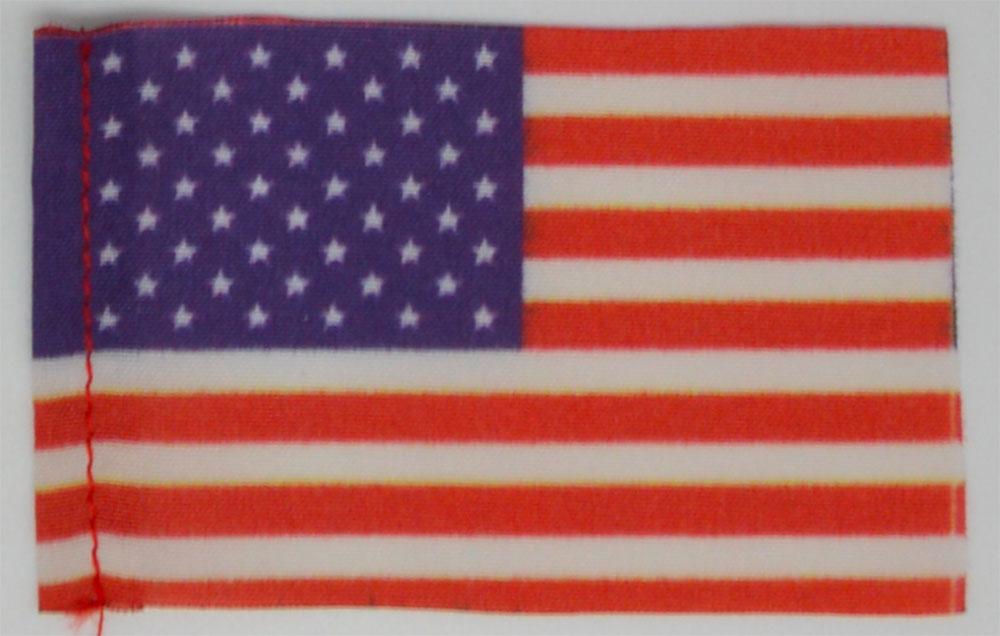 Pavillon USA. 40 x 60 mm. 6 pièces