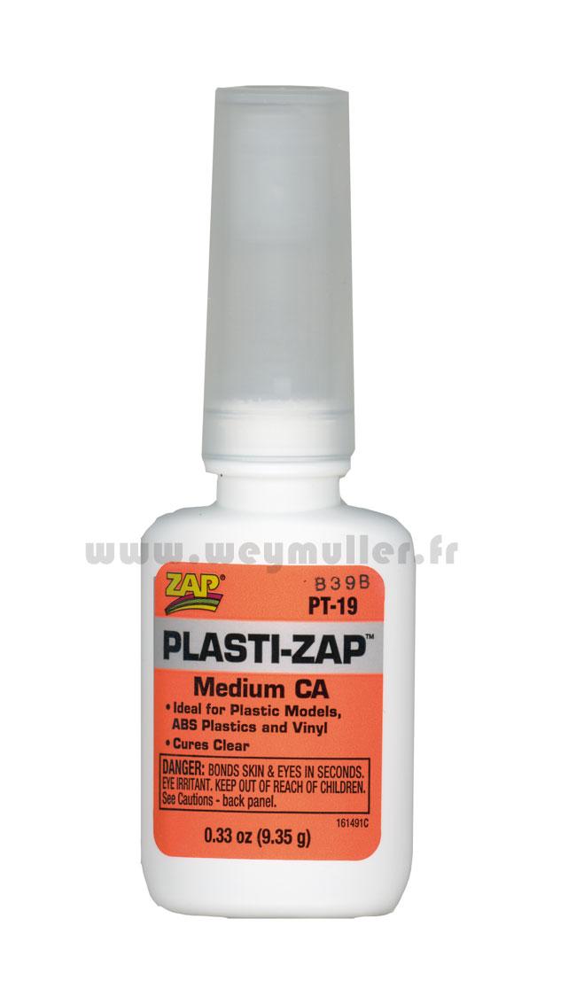 Colle ZAP cyano plastique 9g