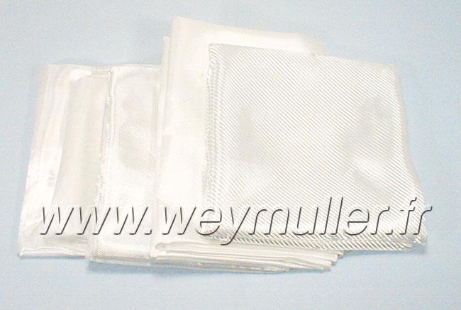 Tissus de verre 1m² ± 25g/m²