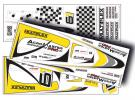 Décoration AcroMaster PRO jaune, argent, argent