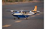 Cessna 208 Grand Caravan 1,70m blanc et bleu